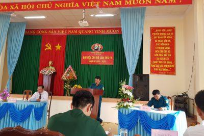 Công tác Đại Hội điểm tại chi bộ Quân sự phường Thiện An