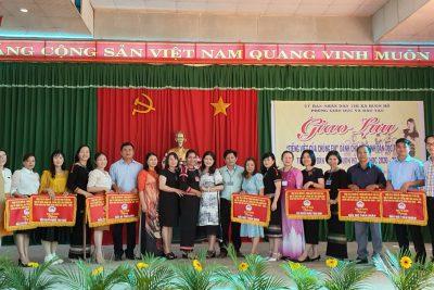 Từ ngày 27-29/4/ 2021.  Hôi thi Giao lưu Tiếng Việt của chúng em cấp thị xã được tổ chức tại trường TH Trưng Vương